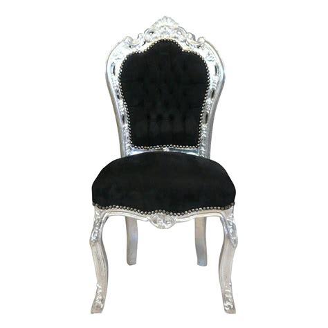 chaises baroque chaise baroque et argent canap 233 baroque