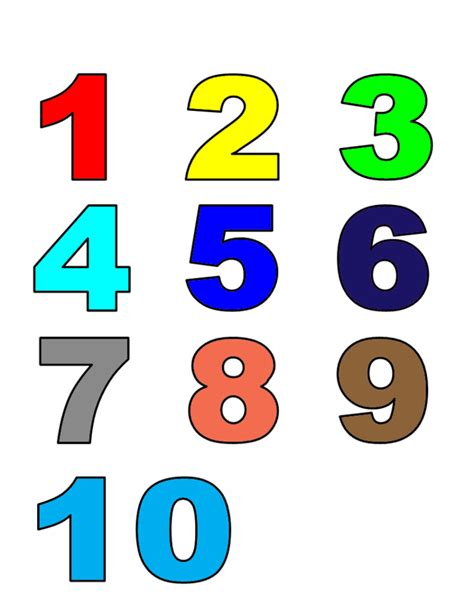 lettere e numeri per bambini numeri da stare e ritagliare vj86 187 regardsdefemmes