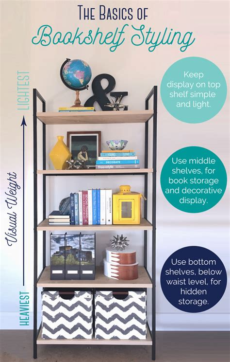 styling a bookcase book shelf home decor pinterest the basics of bookshelf styling school of decorating