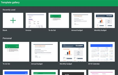 20 Free Google Sheets Business Templates To Use In 2018 Sheets Template Gallery