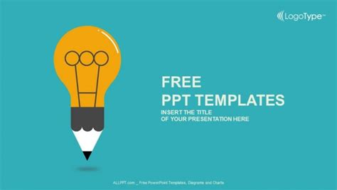 free education powerpoint template education symbol bulb powerpoint templates