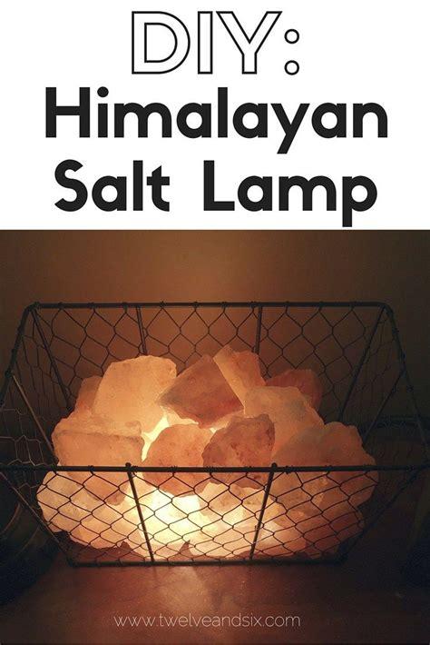 Diy Himalayan Salt L Himalayan Salt Himalayan And Craft