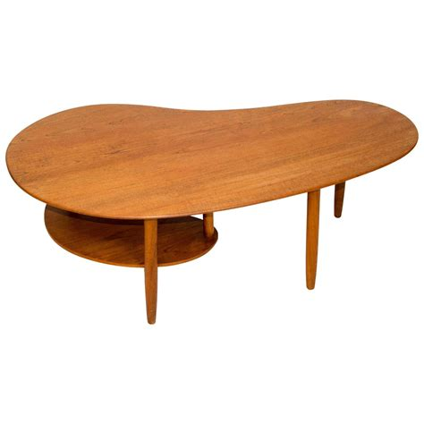 Danish Teak Kidney Shaped Coffee Or Cocktail Table At 1stdibs Shaped Coffee Tables