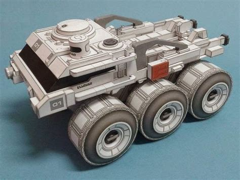 Sci Fi Papercraft - 17 best images about paper models on my