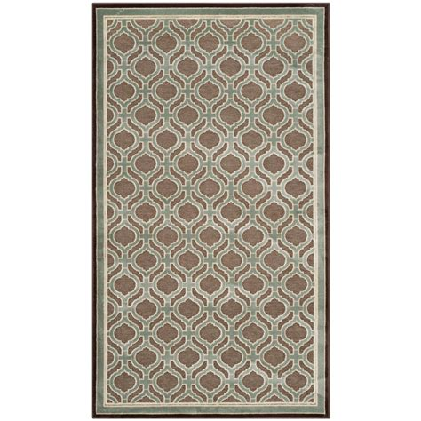 martha stewart rugs home depot safavieh martha stewart arrowroot 2 ft 7 in x 4 ft area rug msr4445t 24 the home depot