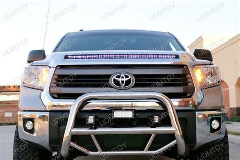 toyota tundra fog light kit toyota tundra 15w high power cree xb d fog lights fogl kit