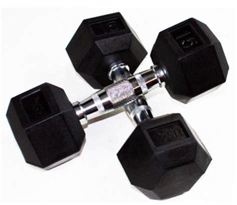hexagon rubber st rubber hex dumbbells fitness equipment in omaha nebraska