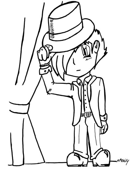 Free Coloring Pages Of Cute Anime Boys Anime Boys Coloring Pages