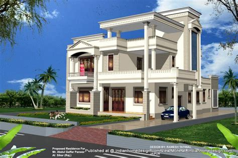 home design experts beautiful home elevation gharexpert