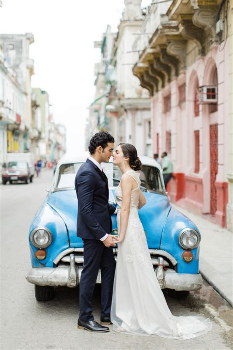 trend alert cuba wedding inspiration tracie domino