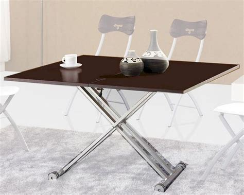 modern dining table w aadjustable base 33d482