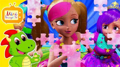 film barbie w krainie kucyków barbie w świecie gier puzzle dla dzieci z bajki gry