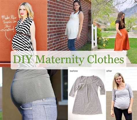 Handmade Maternity Clothes - scissors out diy maternity clothes click on the