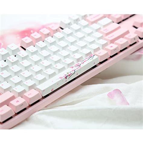 varmilo gaming  key cherry red mx switches sakura white