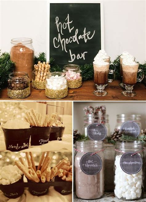 Coffee Bar Toppings by Wedding Will And Unique Weddings On