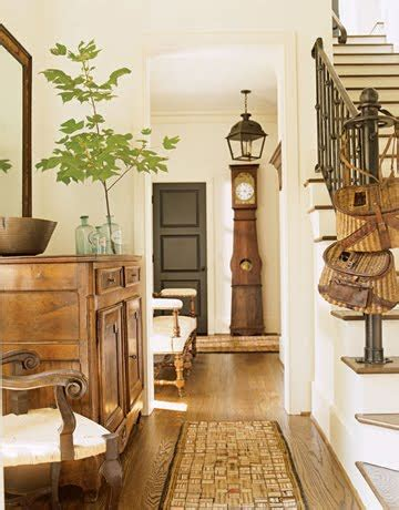 home beautiful decor the chicer antiquer country farmhouse foyer
