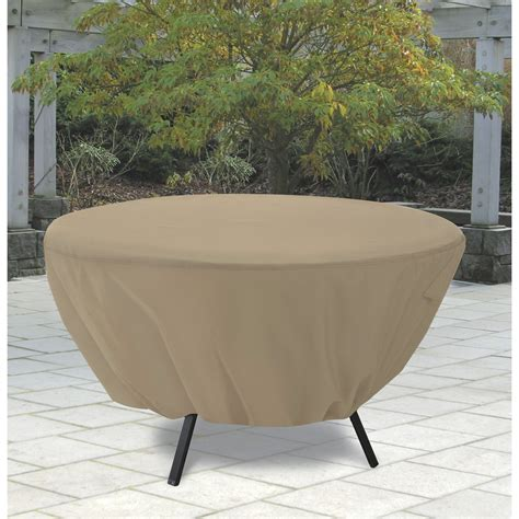 Classic Accessories Terrazzo Round Patio Table Cover All Outdoor Patio Table Covers