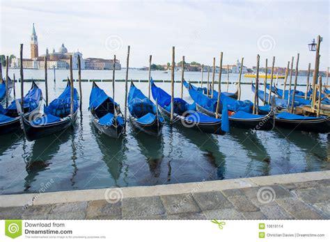 gondola boat price gondola boats on grand canal venice italy stock photo