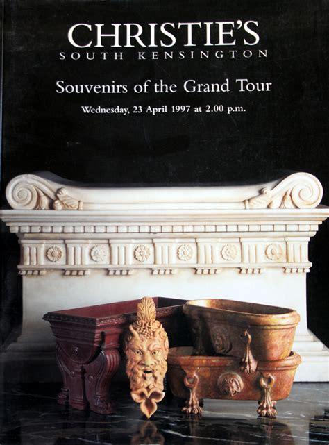 christie s antiquities souvenirs of the grand tour 4 23 97 sale code 7562 auction catalogs