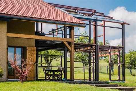 Construction Maison Vosges by Maisons En Acier Dans Les Vosges Meto Constructions