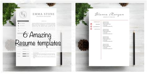 Best Resume Pdf by 40 Best 2018 S Creative Resume Cv Templates Printable Doc