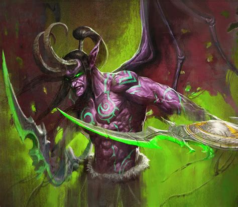 illidan stormrage by leon jo