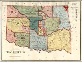 indian territory map indian territory 1887 barry ruderman