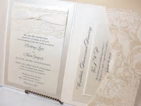 lace wedding invitation lace wedding invitations lace wedding invite by