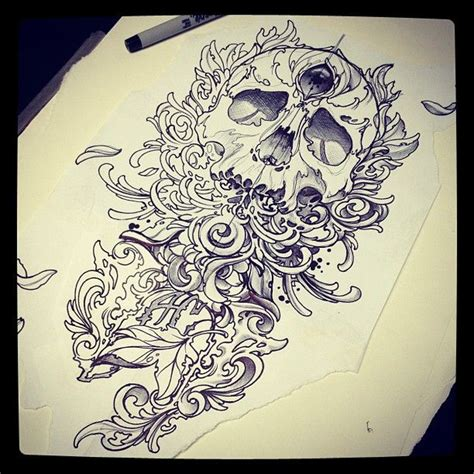 tattoo flash pen 800 best images about skulls skeleton bones on pinterest