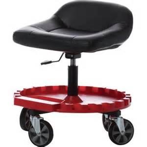 rolling shop stool