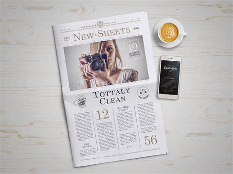 newspaper layout psd newspaper mockup 4 punedesign