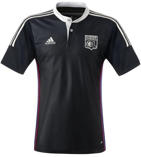 new blue lyon away kit 2014 15 and ol third jersey 2014 2015 adidas football kit news new