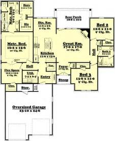 Home Design For 2000 Sq Ft Area House Plan 3 Beds 2 Baths 2000 Sq Ft Plan 430 73