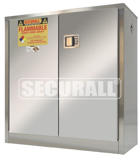 stainless steel storage cabinets securall 174 stainless steel storage cabinets for flammables