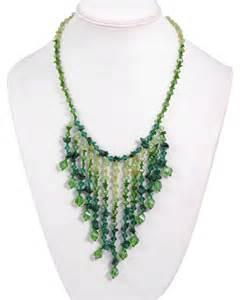 chip bead jewelry ideas handmade green necklace handmade jewelry tradesy