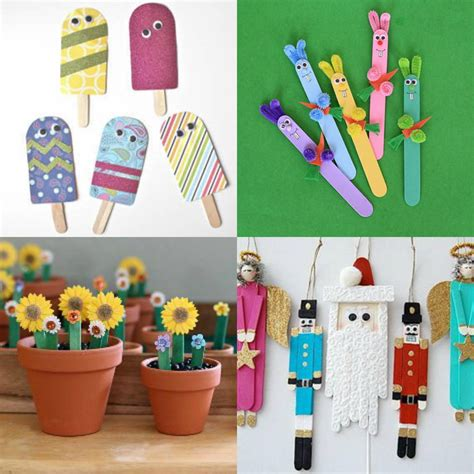popsicle stick crafts for free and easy crafts for of all ages explore