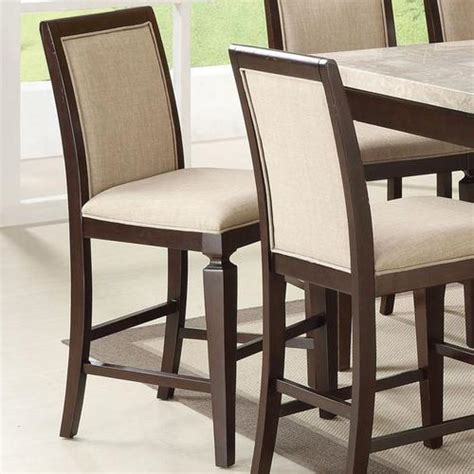 Counter Height Upholstered Chairs by Acme Furniture Agatha Upholstered Counter Height Chair
