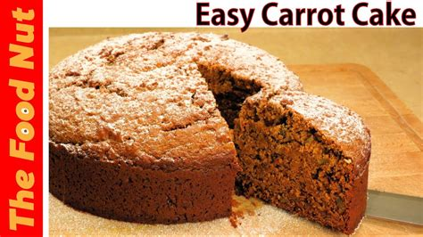 homemade carrot cake recipe from scratch easy no icing made with carrot pulp the food
