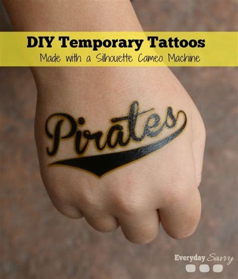 silhouette temporary tattoo paper 504 best diy for images on activities for