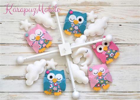 Mobile Baby Dawanda by Baby Mobile Nursery Mobile Owl Mobile Karapuzmobile