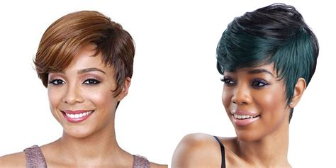 side swept hairstyles for black pixie hairstyles for black women 60 cool short haircuts
