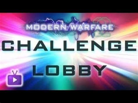 xbox 360 mw2 challenge lobby mw2 challenge lobby xbox 360