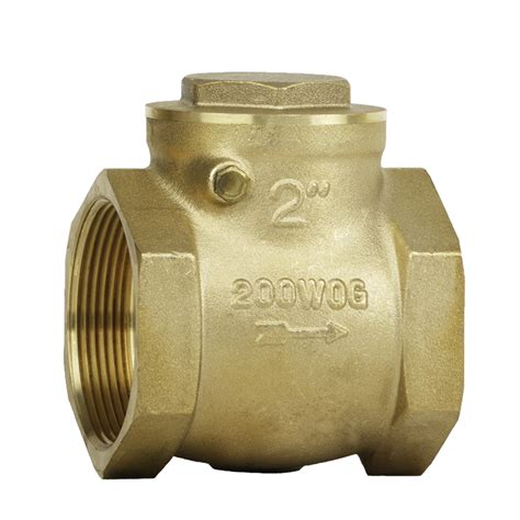 swing check valve 200 brass swing check valve c c industries inc