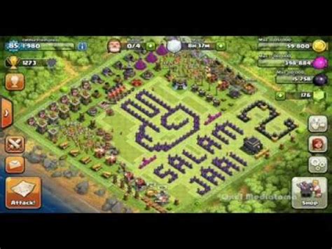 layout base coc unik kumpulan base lucu dan unik di coc youtube