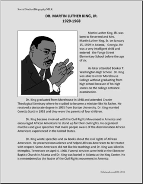 biography martin luther king biography martin luther king jr upper elementary