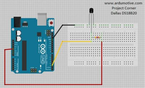 tutorial arduino ds18b20 how to use ds18b20 temperature sensor arduino tutorial all