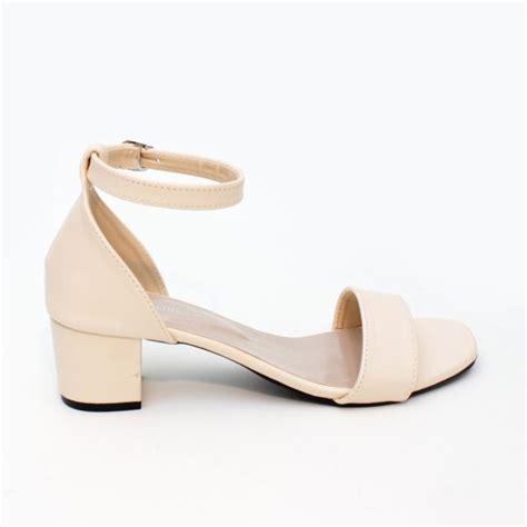 Sepatu Wanita Block High Heels Ma01 Saleem jual sepatu wanita block high heels ankle ma01 di lapak si bangbrang store