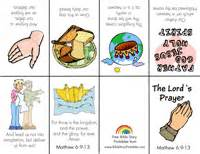 Me the lord s prayer children s crafts and learning activities