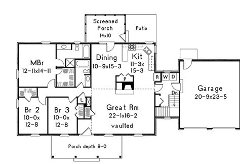 rockwood floor plans rockwood country ranch home plan 006d 0003 house plans