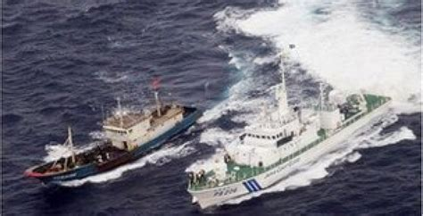 china japan fishing boat incident china japan captain of a chinese fishing boat fined and